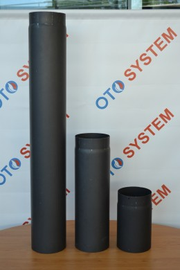 Димоотвод черен Ф150 mm./1,5 mm