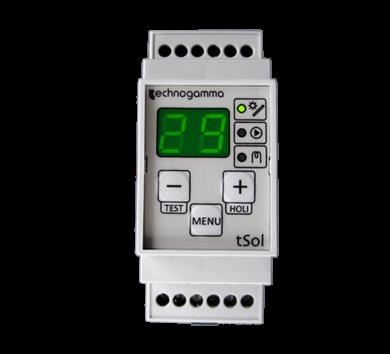 Диференциален термостат Tsol TRIO
