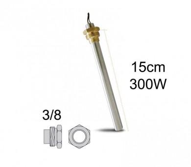 Метален нагревател 300 W-15 см.