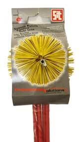 Комплект четка пластмaсова с пръти