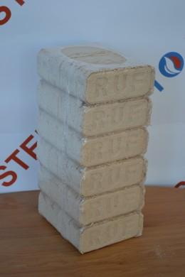 Екобрикети КуБрик /RUF/-пакет 10 kg