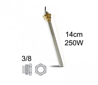 Метален нагревател 250 W-14 см.
