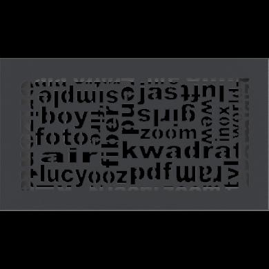 Решетка 30ABC/G  17/30- графит