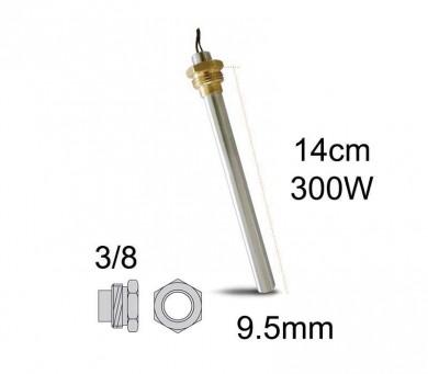 Метален нагревател 300 W-14 см.