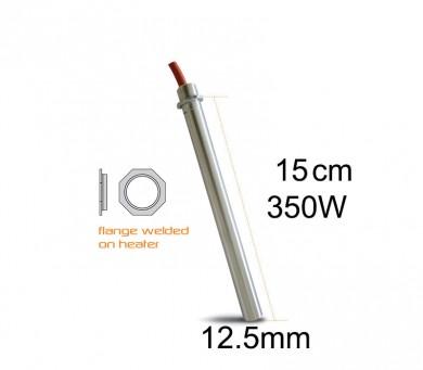 Метален нагревател 350 W-15 см. 12.5 mm