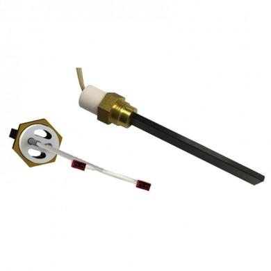 Кварцов нагревател 300W 3/8 с отвор P19S